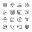 Vector,Finance,Doodle,Icon ...