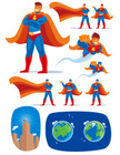 Superhero,Flying,Cape,Comic...