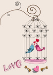 Birdcage,Bird,Cage,Kissing,...