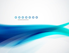Smooth aqua wave background