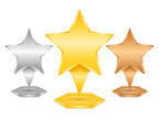 Star Shape,Silver Colored,S...
