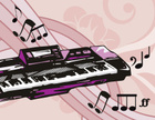Musical Theater,Piano Key,C...