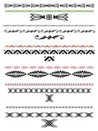 Single Line,Ornate,In A Row...