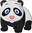 Panda,Ilustration,Cartoon,C...