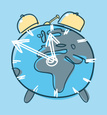 Clock,Earth,Globe - Man Mad...