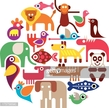 Symbol,Animal,Vet,Bird,Fish,Horse,Circle,Elephant,Dog,Lion - Feline,Penguin,Parrot,Tropical Rainforest,Zoo,Panda - Animal,Cut Out,Jackal,Illustration,Group Of Objects,Vector,Pets,Animal Hospital,White Background,pet-shop