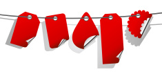 Luggage Tag,Red,Paper,Set,P...