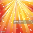 Star,Orange,Bright,Design,E...