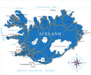 Iceland,Cartography,Map,Cit...