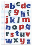 Rubber Stamp,Alphabet,Types...