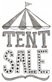 Tent,Sale,Single Word,hand ...