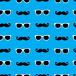 Mustache,Pattern,Sunglasses...