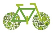 Bicycle,Green Color,Cycling...