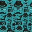 Hipster,Sunglasses,Pattern,...
