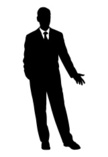Vector,Back Lit,Businessman...