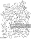 Pig,Fairy Tale,Animal,Fun,H...