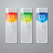 Banner,Internet,Infographic,Vertical,Backgrounds,Three Objects,Label,Number 1,Green Color,Number 2,Three-dimensional Shape,Blue,Abstract,White,Arrow Symbol,Red,Vector,Choice,Shiny,Direction,Modern,Bright,template,Shadow,Vibrant Color,Design,Computer Graphic