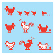Chicken - Bird,Farm,Symbol,...