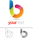 Letter B,Sign,Abstract,Symb...