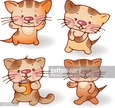 Animal,Domestic Cat,Cut Out...