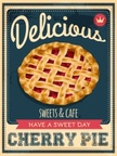 Pie,Retro Revival,Poster,Th...