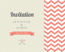 Chevron,Pattern,Invitation,...