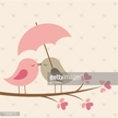 Holiday - Event,Celebration,Animal,Dating,Vector,Leaf,Flirting,Smiling,Simplicity,Affectionate,Umbrella,February,Bird,Retro Style,Autumn,Cute,Valentine's Day - Holiday,Rain,Branch - Plant Part,Parasol,Illustration,Couple - Relationship,Valentine Card,Heart Shape,Nature,Tree,Love - Emotion,Tree Trunk,Romance,Love At First Sight,Kissing,Pink Color,Day,Togetherness,Springtime