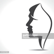 People,Concepts,Elegance,Simplicity,Symbol,Communication,Human Body Part,Human Head,Human Face,Profile View,Human Hair,Hairstyle,Long Hair,Short Hair,Heterosexual Couple,Shape,Black Color,White Color,Silhouette,Curve,Beauty,Computer Icon,Adult,Abstract,Illustration,Group Of People,Males,Men,Females,Women,Vector,Retro Styled,Beautiful People,Wife,Clip Art,Silhouette