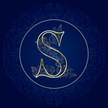 Letter S,Vector,Lace - Text...