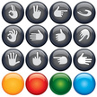 Icon Set,Human Hand,Color I...