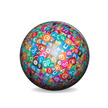 Sphere,Icon Set,Label,Color...