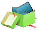 Gift Box,Digital Tablet,Chr...