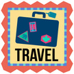 Travel,Suitcase,Label,Trave...