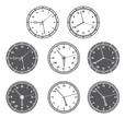 Clock Face,Group of Objects...