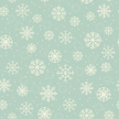 Winter seamless retro texture with ornamental snowflakes