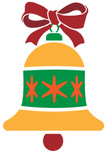 Symbol,Bell,Christmas,Bow,G...
