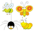 Insect,Cartoon,Ilustration,...