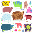 Pattern,Cow,Cattle,Sign,Abs...