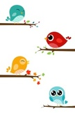 Bird,Cute,Cartoon,Animal,Gr...