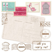 Just Married,Rubber Stamp,W...