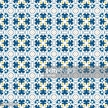 Square,Design,Mosaic,Blue,W...