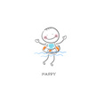 Happiness,Clip Art,Color Im...