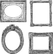Frame,Sketch,Picture Frame,Frame,Art And Craft,Decor,Drawing - Art Product,Ornate,Decoration,Isolated On White,Decorative Frame,Old-fashioned,Doodle,Baroque Style,Luxury,Ancient,Pattern
