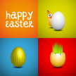 Set,Eggs,Easter,Ilustration...
