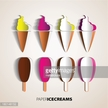 Vector,Group Of Objects,Ice...