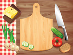 Cutting Board,Directly Abov...