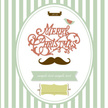 Christmas,Mustache,Greeting...
