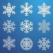 Snowflake,Collection,Ice,Bl...