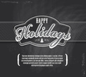 happy holidays,Design Eleme...