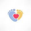 Baby,Footprint,Sign,Child,S...